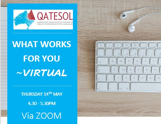 RECORDING AVAILABLE What works for you – Virtually?