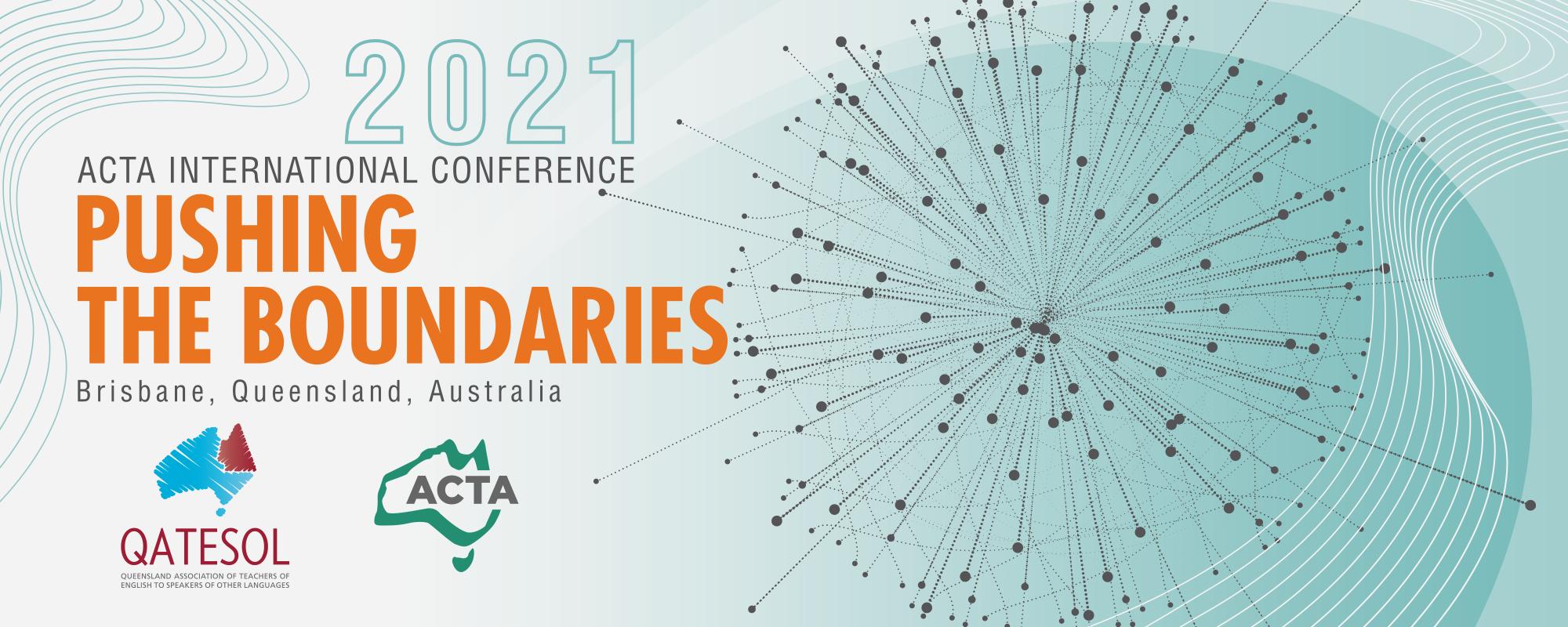 Conference Program – ACTA International Conference 28-30 September 2021